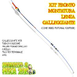 Kit Pronto Lenza con Galleggiante