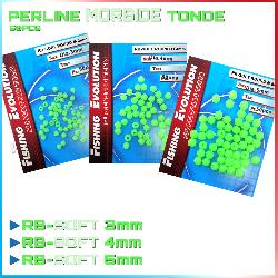 Perline Fluo Tonde Morbide (RB-SOFT)