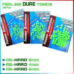 Fishing evolution Perline fluo tonde dure 50 pz rb-hard