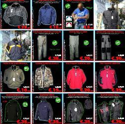 Stock Abbigliamento Invernale
