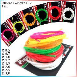 Tubetto in Silicone Fluo colorato
