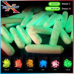 X-Float Sticky Glow Mis.S (3.5x12 mm)