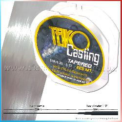 Teiko Tapered 220 mt Clear