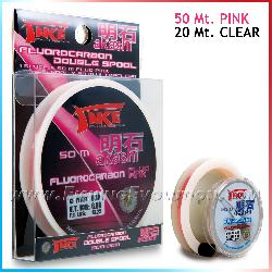 Fluorcarbon Pink + Clear