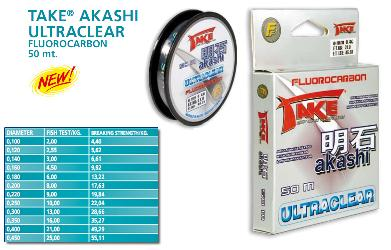 Take Akashi Fluorocarbon 50 mt.