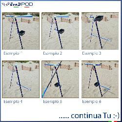 KIt Multi Postazione da SurfCasting MP601