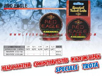 Red Eagle Nylon 150mt.